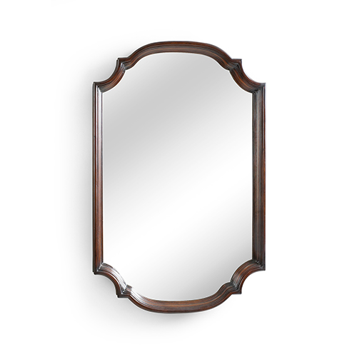 Brown Marvin Mirror