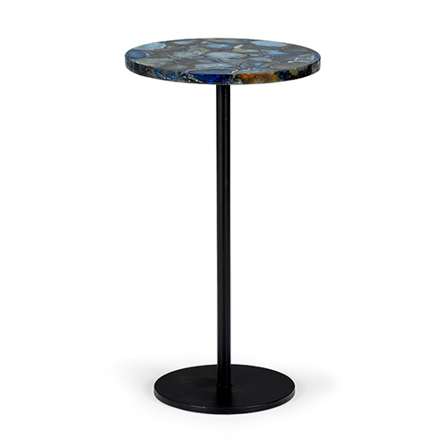 Blue Agate Side Table 383360 Bellacor