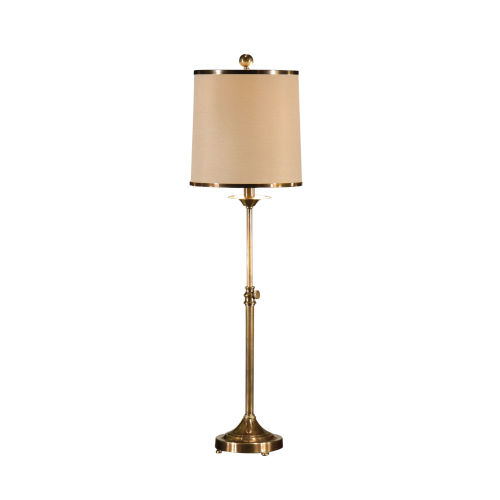 Gold One-Light 10-Inch Adjustable Table Lamp