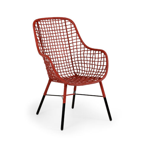 Red 26-Inch Ellie Chair