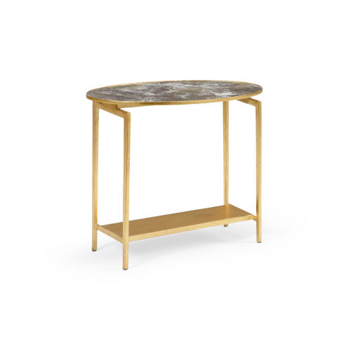 Gold 24-Inch Rockefeller Table