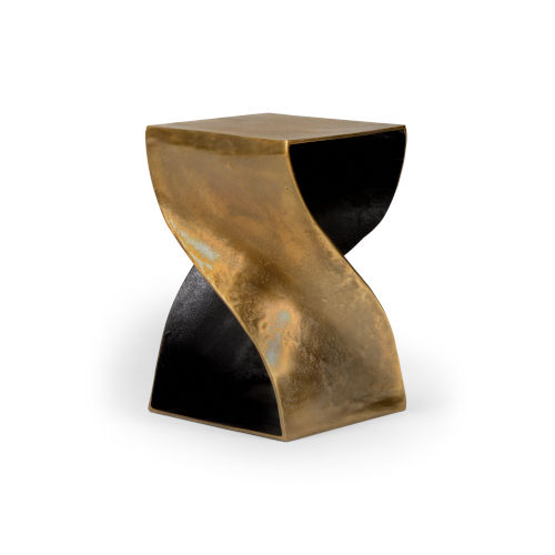 Black and Gold 14-Inch Salida Table