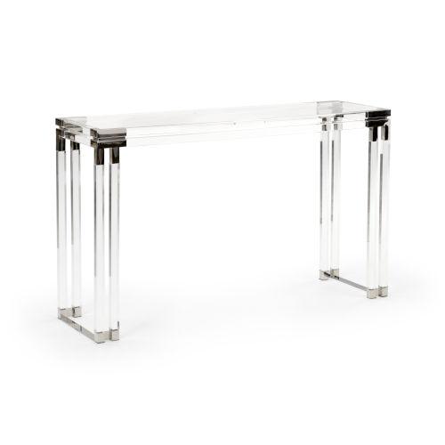 Silver 52-Inch Bowen Console Table