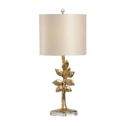 Gold One-Light 8-Inch Juliet Lamp