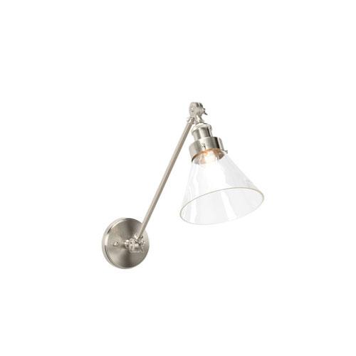 Silver One-Light 7-Inch Kenan Swing Arm