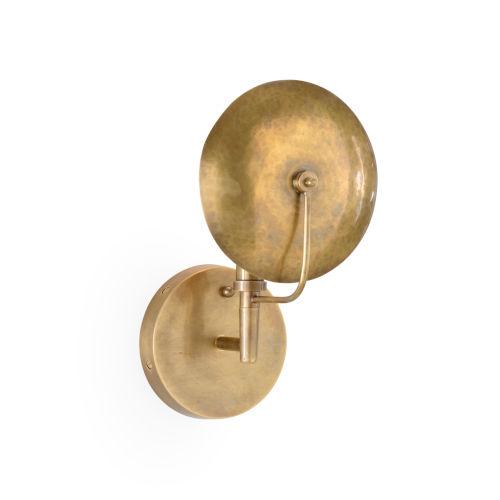 Gold One-Light 7-Inch Dovi Sconce