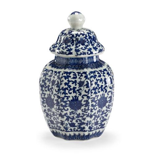 Dynasty Blue and White Vase