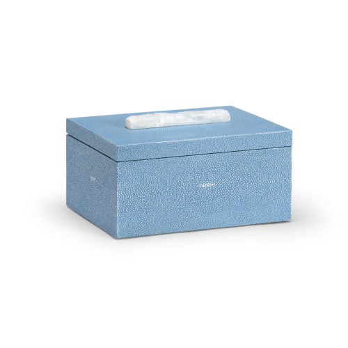 Durham Blue 12-Inch Decorative Box