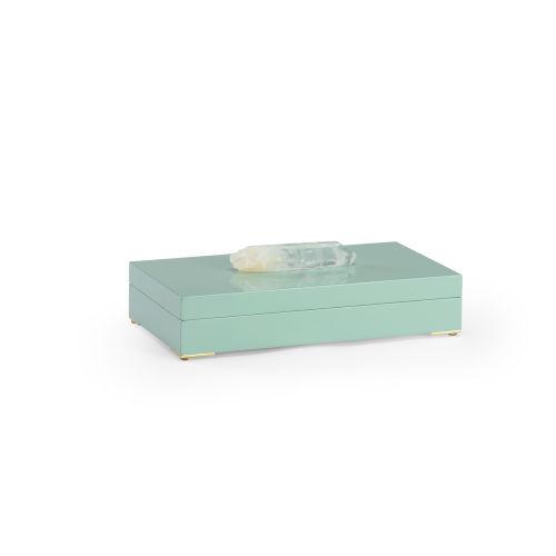Greenville Mint Green Decorative Box