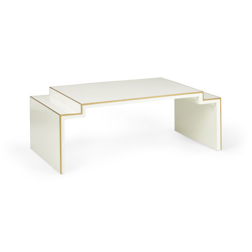 Chatsworth Cream and Gold Coffee Table
