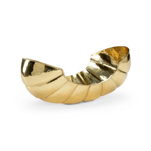 Victoria Antique Brass 17-Inch Tray