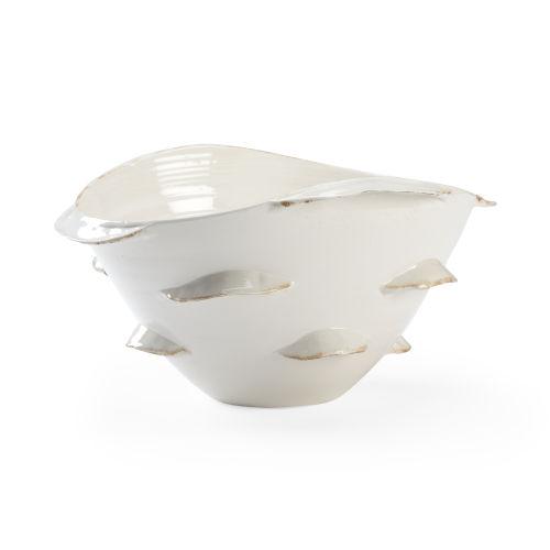 Whiston Antique White Decorative Bowl