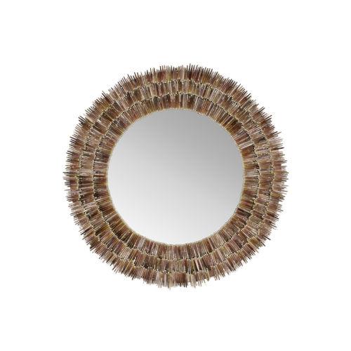 Natural Urchin Spine Wall Mirror