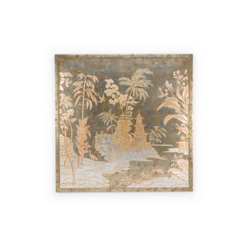 Brown Chinoiserie Panel Wall Art