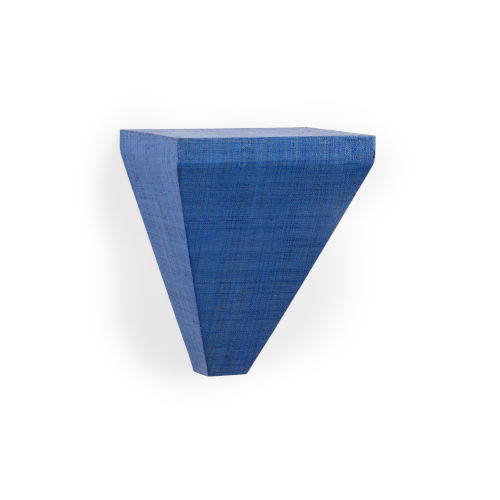 Raffia Blue 10-Inch Bracket