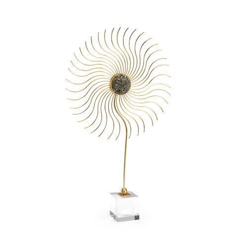 Sundisk Gold 16-Inch Centerpiece