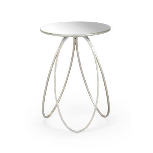 Silver 16-Inch Tri-Leg Table