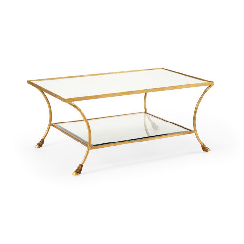 Kendal Gold 44-Inch Coffee Table