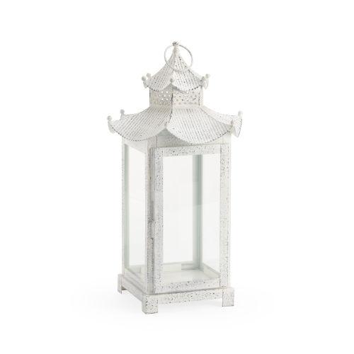 Birch White 11-Inch Lantern
