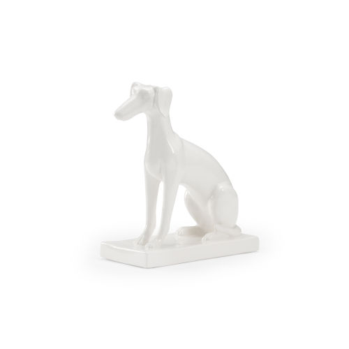 White 11-Inch Flossie Sculpture