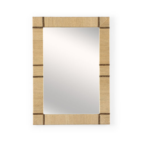 Newton Natural Wall Mirror