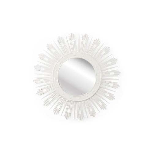 Wasden White Wall Mirror