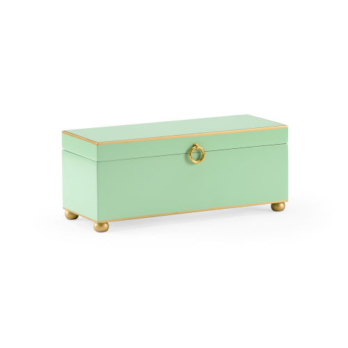 Celadon 14-Inch Jewel Box