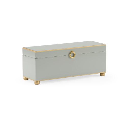 Gray 14-Inch Jewel Box