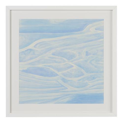 White Ocean Tides VII Wall Art
