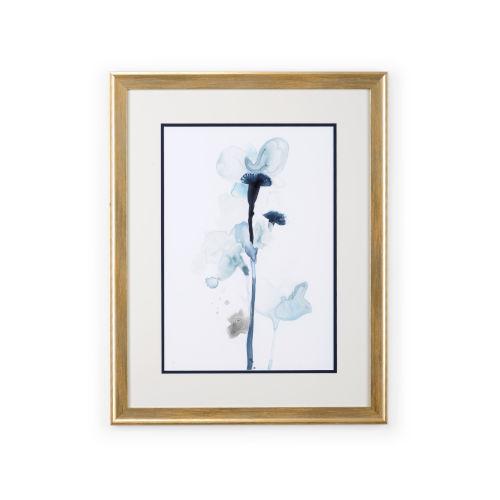Gold Midnight Blossoms I Wall Art