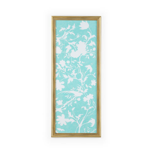 Gold Graphic Chinoiserie II Wall Art