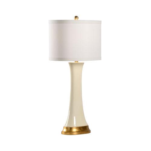 Hopper Cream One-Light Table Lamp