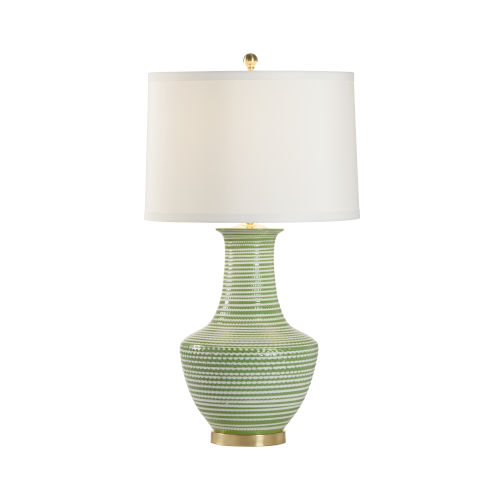 Polished Brass One-Light Table Lamp