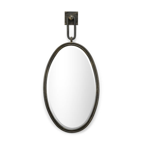 Tobago Bronze and Clear Wall Mirror
