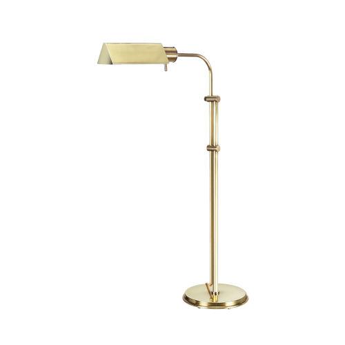 Seymour Antique Brass Floor Lamp