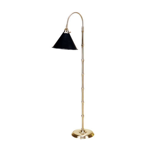 Bostwick II Antique Brass Table Lamp