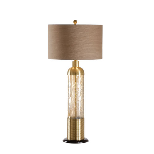 Shaken Light Amber Table Lamp