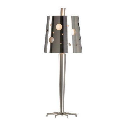 Uber Brushed Nickel Table Lamp