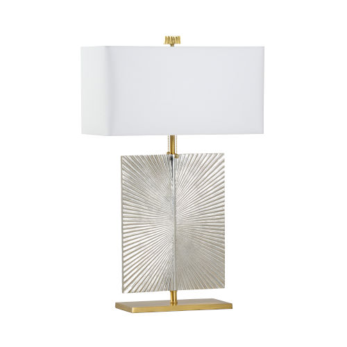 Astaire Silver Table Lamp