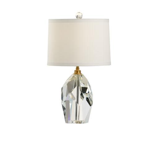 Fenton Clear Table Lamp