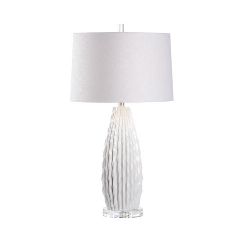 Saguaro White Glaze Table Lamp