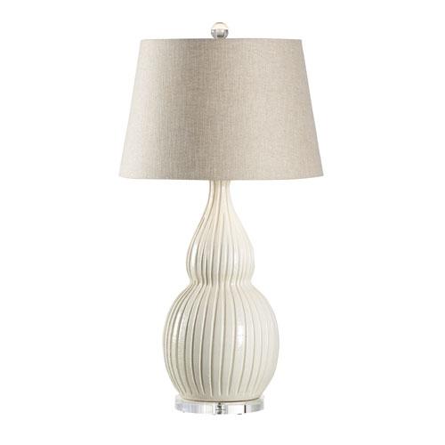 Wildwood Lamps Vietri Cream One-Light Table Lamp