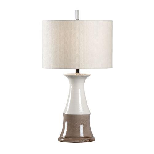 Wildwood Lamps Vietri Grey One Light Table Lamp