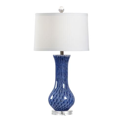 Vietri Lapis One-Light Table Lamp