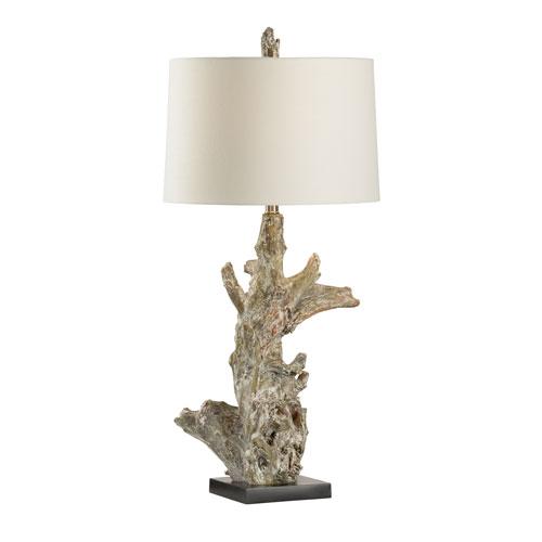 Wildwood Lamps Bob Timberlake White Washed One-Light Table Lamp