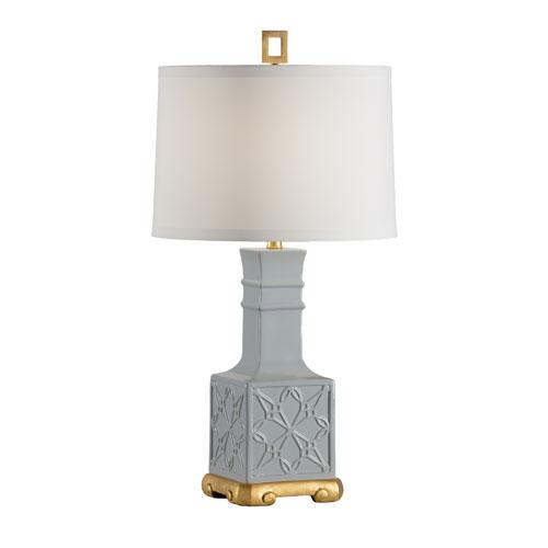 Wildwood Lamps Biltmore Slate Glaze One-Light Table Lamp