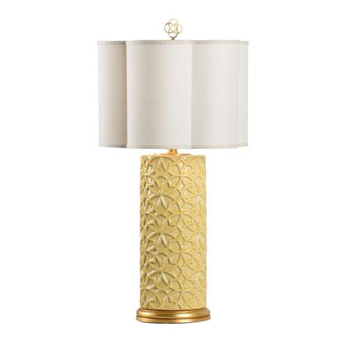 Biltmore Maize Yellow Glaze One-Light Table Lamp