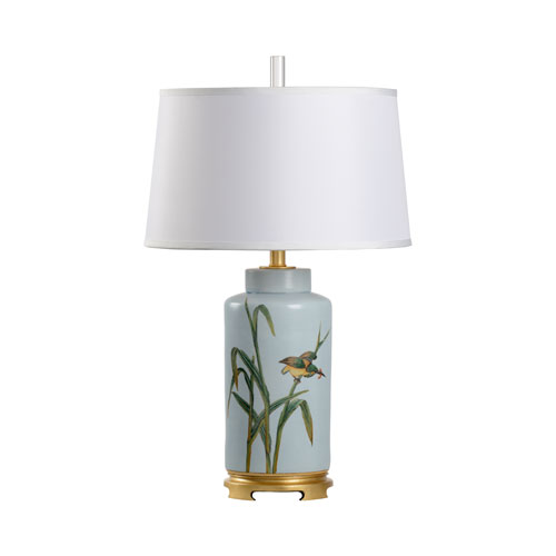 Wildwood Lamps Biltmore Hand Painted One-Light Table Lamp