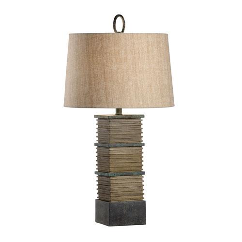 Joe Ruggiero Woodtone One-Light Table Lamp