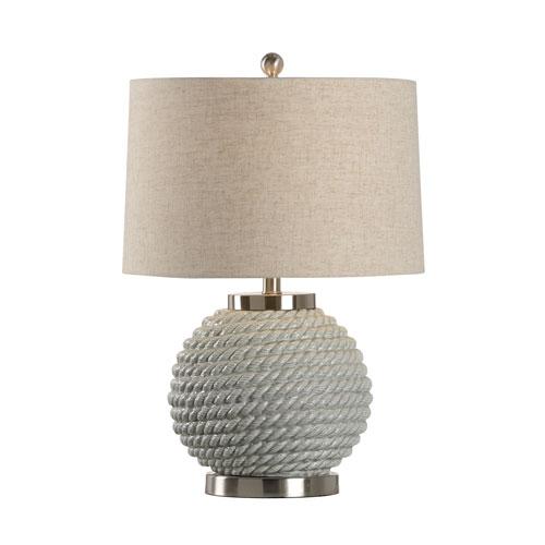 Wildwood Lamps Marketplace Sage Green Glaze One Light Table Lamp